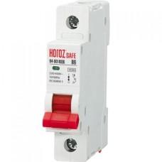 Автоматичний вимикач SAFE 6А 1P В