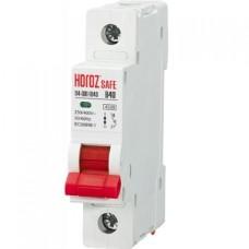 Автоматичний вимикач SAFE 40А 1P В