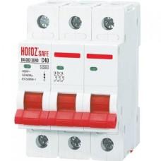 Автоматичний вимикач SAFE 40А 3P С