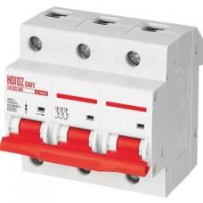 Автоматичний вимикач SAFE 100А 3P С