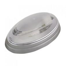 Світильник пластиковий Овал Нінова срібний