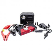 Набір пускозарядний пристрій універсальний 16800 mАч і міні компресор INTERTOOL AT-3010