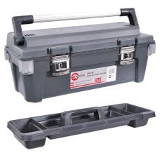 Ящик для інструментів з металевими замками 25.5 650*275*265мм.