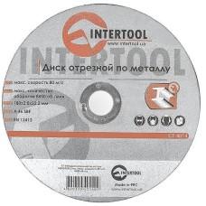 Диск відрізний по металу 180x2.0x22.2мм INTERTOOL CT-4014