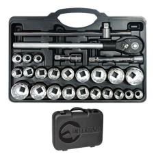 Професійний набір інструментів 3/4, 26 од. INTERTOOL ET-6026