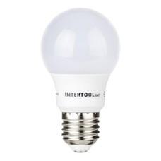 Світлодіодна лампа LED 7Вт, E27,220В, INTERTOOL LL-0003