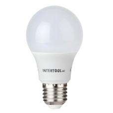 Світлодіодна лампа LED 10Вт, E27,220В, INTERTOOL LL-0014