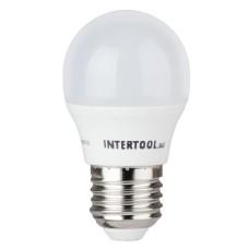 Світлодіодна лампа LED 5Вт, E27,220В, INTERTOOL LL-0112