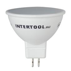 Світлодіодна лампа LED 5Вт, GU5.3,5Вт, 220В, INTERTOOL LL-0202