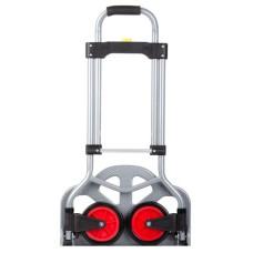 Візок ручний складний до 60 кг, 385*375*960, колеса 130 мм, (сталева) Intertool
