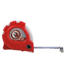 Рулетка з металевим полотном 8 мx25 мм Супер Магніт blister INTERTOOL MT-0308