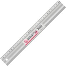 Лінійка будівельна алюмінієва 300мм INTERTOOL MT-2000