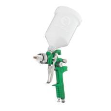 Фарбопульт пневматичний HVLP, форсунка 2.0мм, верхній пластиковий бачок 600мл, 3бар INTERTOOL PT-0120