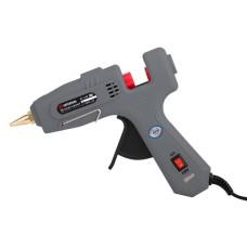 Пістолет клейовий 40(120)Вт, 230В, 195-210°C під стрижні 10.8-11.5мм, 10-16.5 г/хв., вимикач . INTERTOOL RT-1102