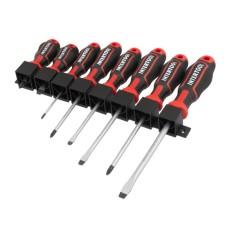 Набір викруток 8 од (SL5.0 * 100мм, SL6.0 * 38мм, SL6.0 * 125мм, SL8.0 * 150мм, PH0 * 75мм, PH1 * 100мм, PH2 * 38мм, PH2 * 125мм), STORM VT-3438 Intertool