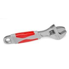 Ключ розвідний 150 мм, изольована рукоятка,нікелеве покриття XT-0015 Intertool