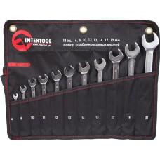 Набір комбінованих ключів 11 шт. INTERTOOL XT-1003
