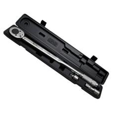 Динамометричний ключ 3/4 70-420 NM, перехідник 3/4 х 1/2, подовжувач 100 мм 3/4 INTERTOOL XT-9010