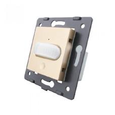 Механізм датчик руху з сенсорним вимикачем Livolo золото (VL-C7-01RG-13)