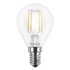 Філаментна лампа Maxus FM G45 4Вт 3000K 220В E14 (1-LED-547)