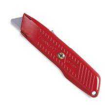 Трапецієвидний ніж зі зворотною пружиною Stanley 155мм