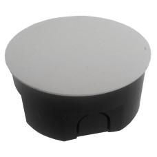 Коробка монтажна з кришкою d100, h45мм