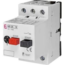 Автомат захисту двигуна ETI 004600110 MS25-16
