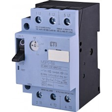 Автомат захисту двигуна ETI 004646618 MSP0-0.6 (0.12-0.18 kW 0.4-0.6A)
