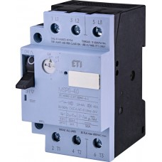 Автомат захисту двигуна ETI 004646622 MSP0-4.0 (1.1-1.5 kW 2.4-4A)
