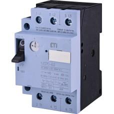 Автомат захисту двигуна ETI 004646623 MSP0-6 (2.2 kW 4-6A)