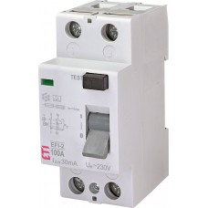 ПЗВ ETI 002062530 EFI-2 100/0.03 тип A (10kA)