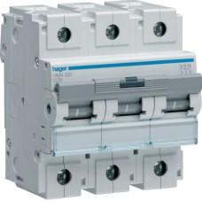 Модульний Автоматичний вимикач Hager HMX320 3P 50кА C-20A 4,5M