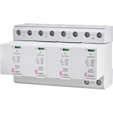 Обмежувач перенапруги ETI 002440562 ETITEC SM T12 300/25 (3+1 8p TT TN-S)