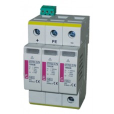 Фотоелектричний обмежувач перенапруги ETI 002445307 ETITEC S C-PV 1000/20 Y RC для сонячних панелей