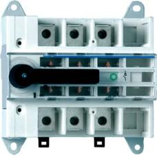 Модульний вимикач навантаження Hager HA307 в 95мм² 3P 160А з видимим розривом