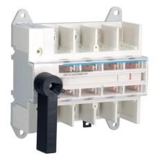 Модульний вимикач навантаження Hager HA405 в 50мм² 4P 100А з видимим розривом