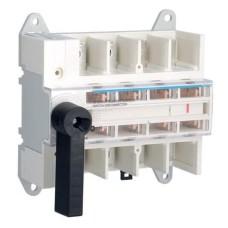 Модульний вимикач навантаження Hager HA407 в 95мм² 4P 160А з видимим розривом