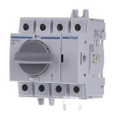 Модульний вимикач навантаження Hager HAC408 к 35мм² 4P 80А