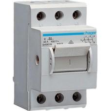 Компактний вимикач навантаження Hager SH363N 3Р 63А/400В