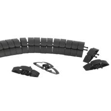 Підлоговий кабель-канал Schneider Electric INS61200 (чорний)