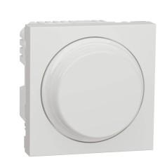 Універсальний поворотний світлорегулятор Schneider Electric NU351418 для LED ламп (білий)