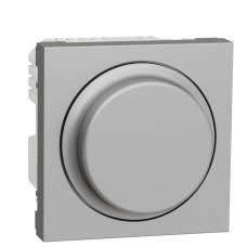 Універсальний поворотний світлорегулятор Schneider Electric NU351430 для LED ламп (алюміній)