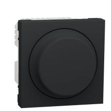 Універсальний поворотний світлорегулятор Schneider Electric NU351454 для LED ламп (антрацит)