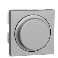 Універсальний поворотний світлорегулятор Schneider Electric NU351630 Wiser для LED ламп (алюміній)