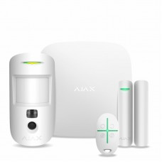 Комплект охоронної сигналізації Ajax 16461 StarterKit Cam білий