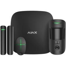 Комплект охоронної сигналізації Ajax 16586 StarterKit Cam чорний