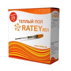 Нагревательный кабель Ratey RD1 77м 1400Вт