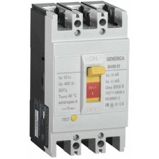 Автоматичний вимикач Generica SAV10-3-0032-G ВА66-31 3Р 32А 18кА