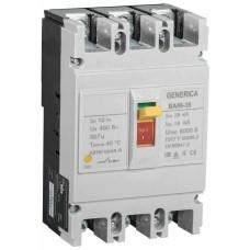 Автоматичний вимикач Generica SAV30-3-0200-G ВА66-35 3Р 200А 25кА