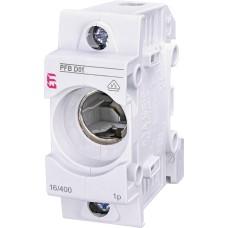 Тримач запобіжника ETI 002510011 PFB D01 1p (16А E14)